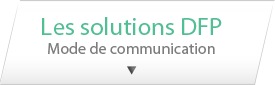 Les solutions DFP, Mode de communication